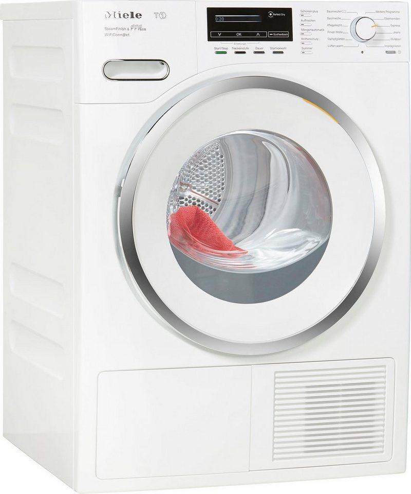 MIELE Trockner TMM843 WP SFinish&Eco Wifi, A+++, 8 kg in weiß