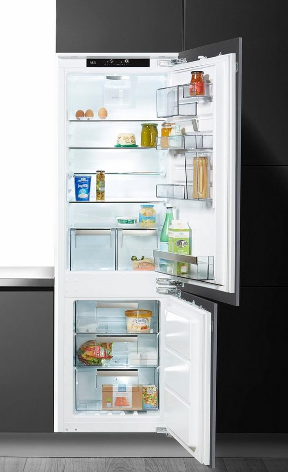 AEG integrierbarer Einbaukühlschrank SANTO SCE81864TC, Energieklasse A+++, 176,9 cm hoch in weiß