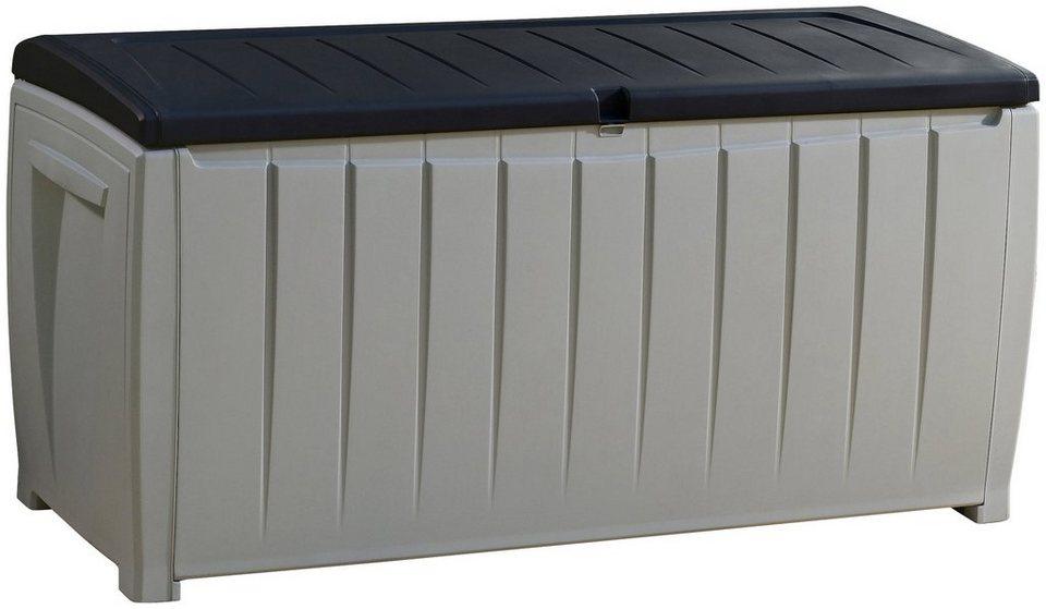 auflagenbox novel 125x63x55 cm kunststoff grau online kaufen otto. Black Bedroom Furniture Sets. Home Design Ideas