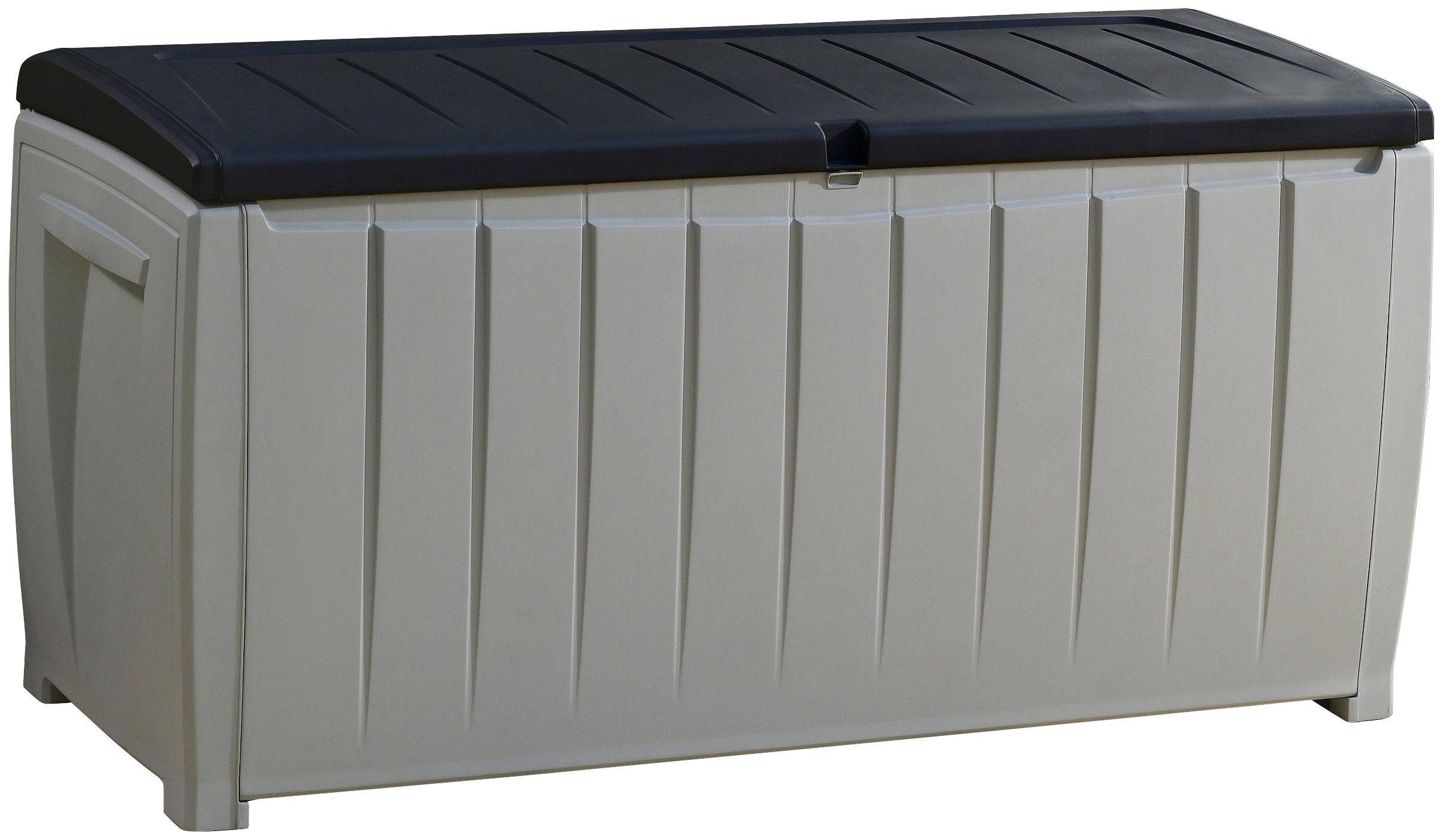 Auflagenbox »Novel«, 125x63x55 cm, Kunststoff, grau