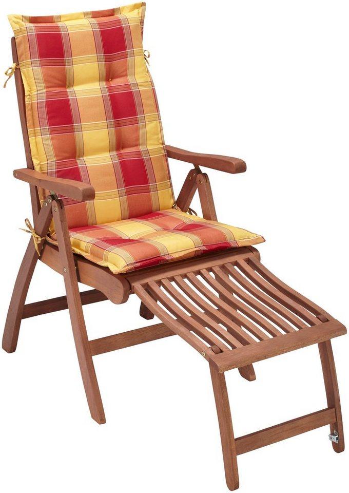 relaxsessel maracaibo eukalypthusholz verstellbar inkl auflage online kaufen otto. Black Bedroom Furniture Sets. Home Design Ideas