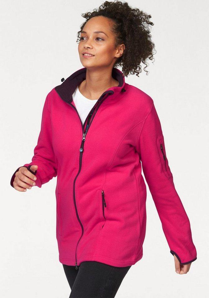Polarino Fleecejacke in Pink