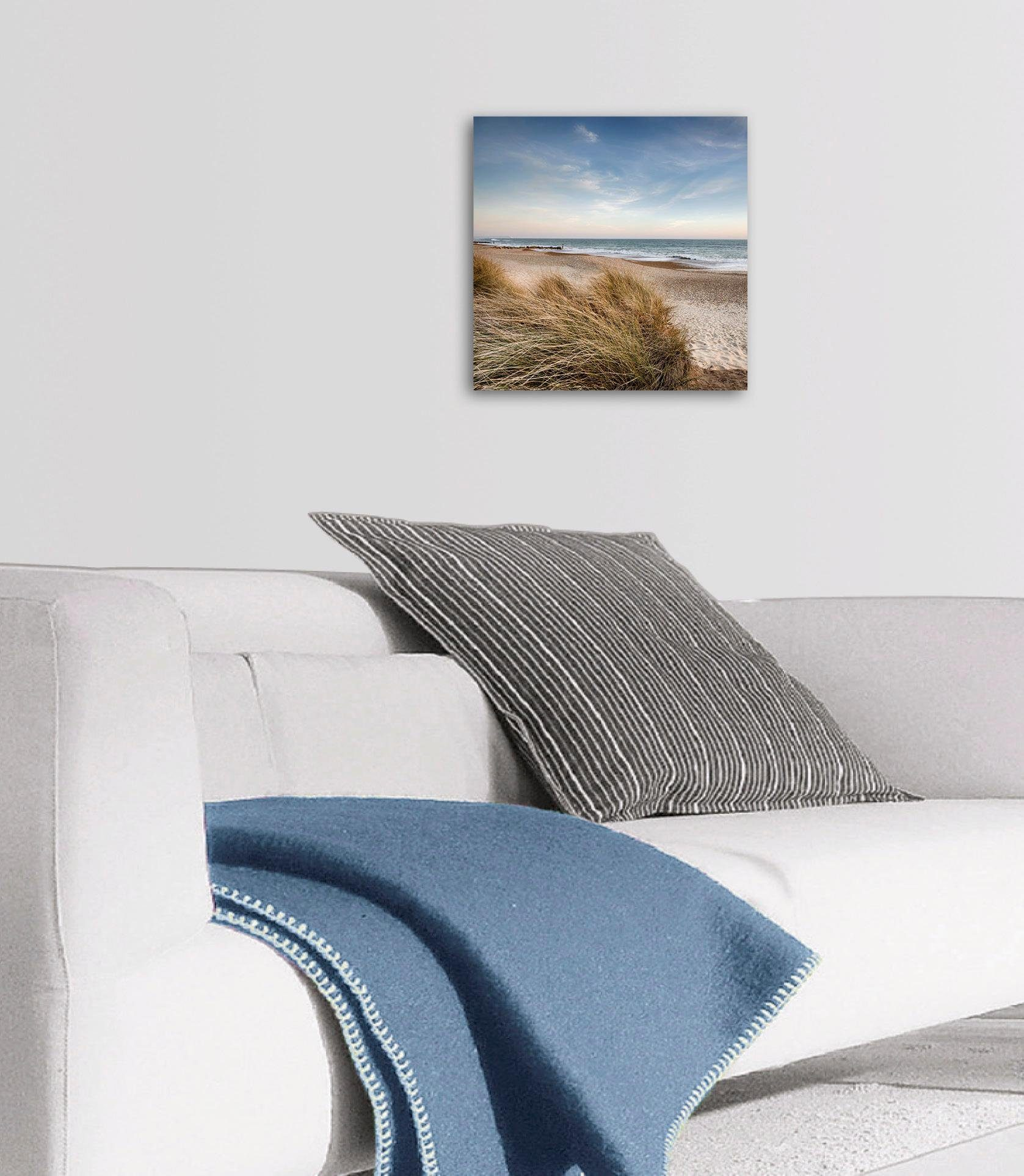 Eurographics Deco Panel »Dunes at Hengistbury Head«, 30/30 cm