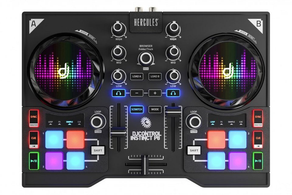 HERCULES DJ Control Instinct P8 Party Pack »(PC)«