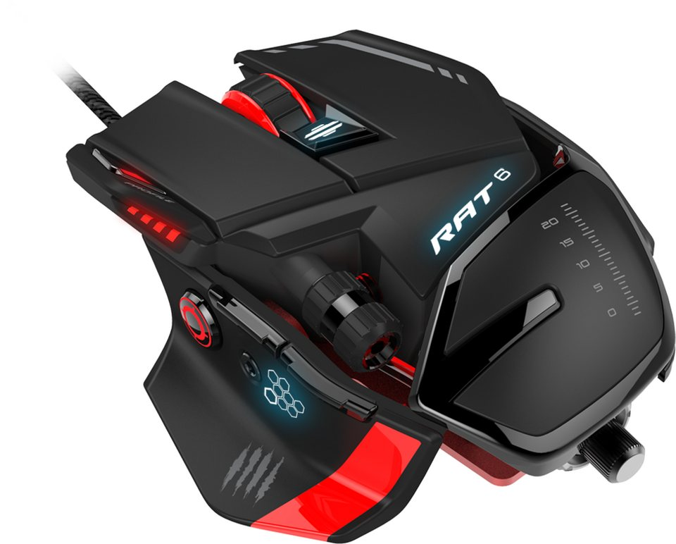 Mad Catz Mouse R.A.T.6 Gaming Mouse schwarz »(PC)«