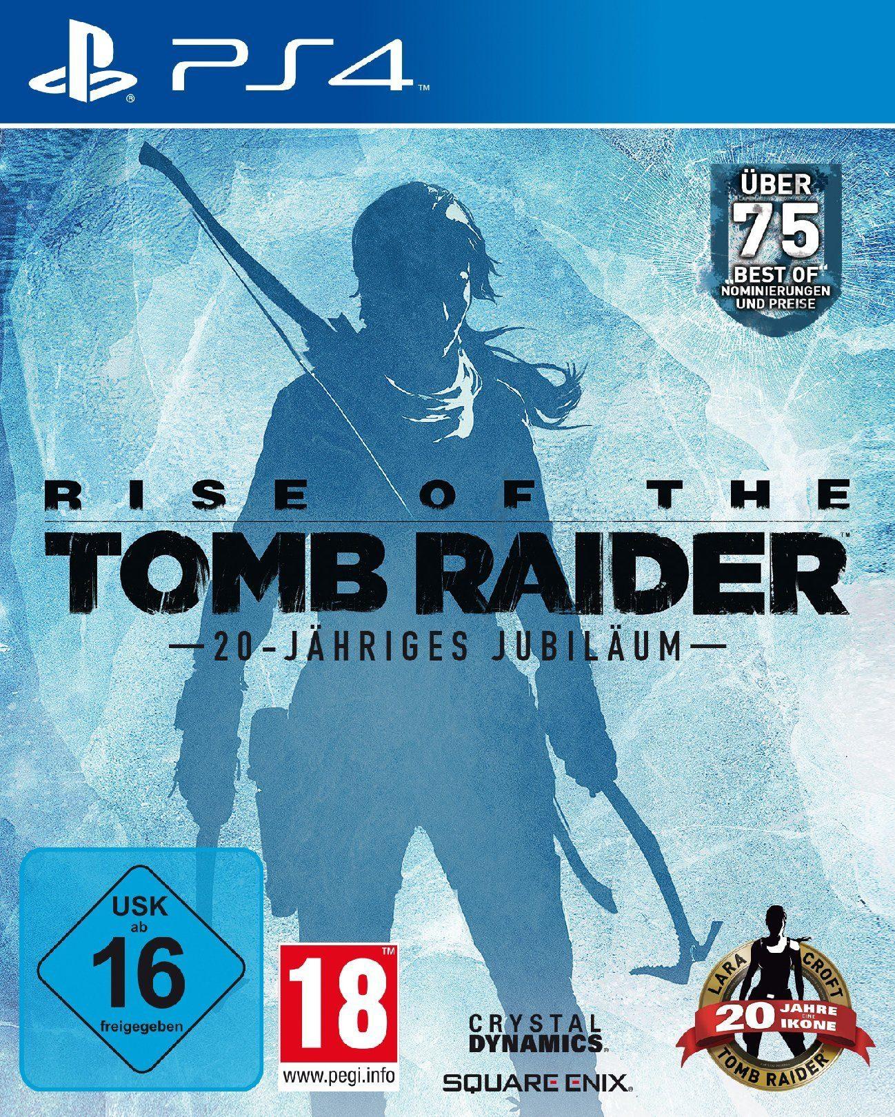 SquareEnix Rise of the Tomb Raider 20 Year Celebration »PS4«