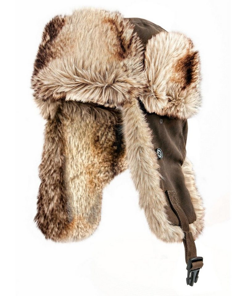 Blaser Active Outfits Thermo Kappe RAM in Braun