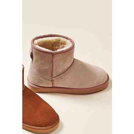 Next Stiefel aus Veloursleder