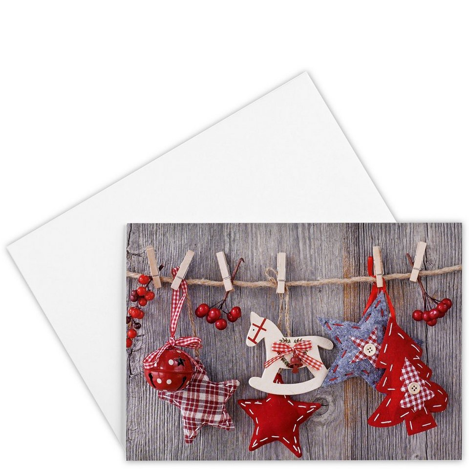 BUTLERS CARD »Merry Christmas« in Bunt