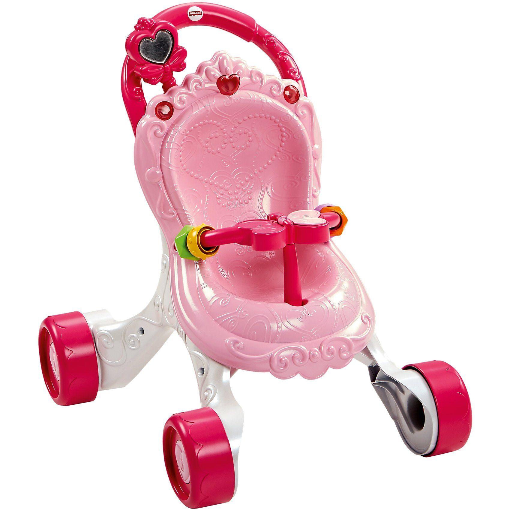 Mattel® Fisher-Price Musikspaß Lauflern- & Puppenwagen