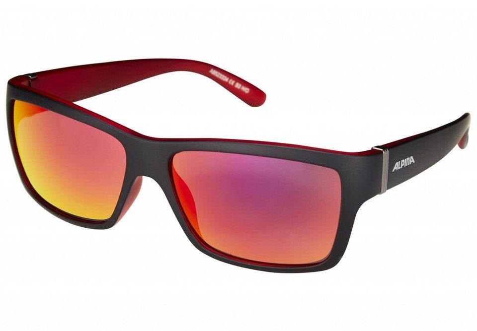 Alpina Radsportbrille »Kacey« in schwarz