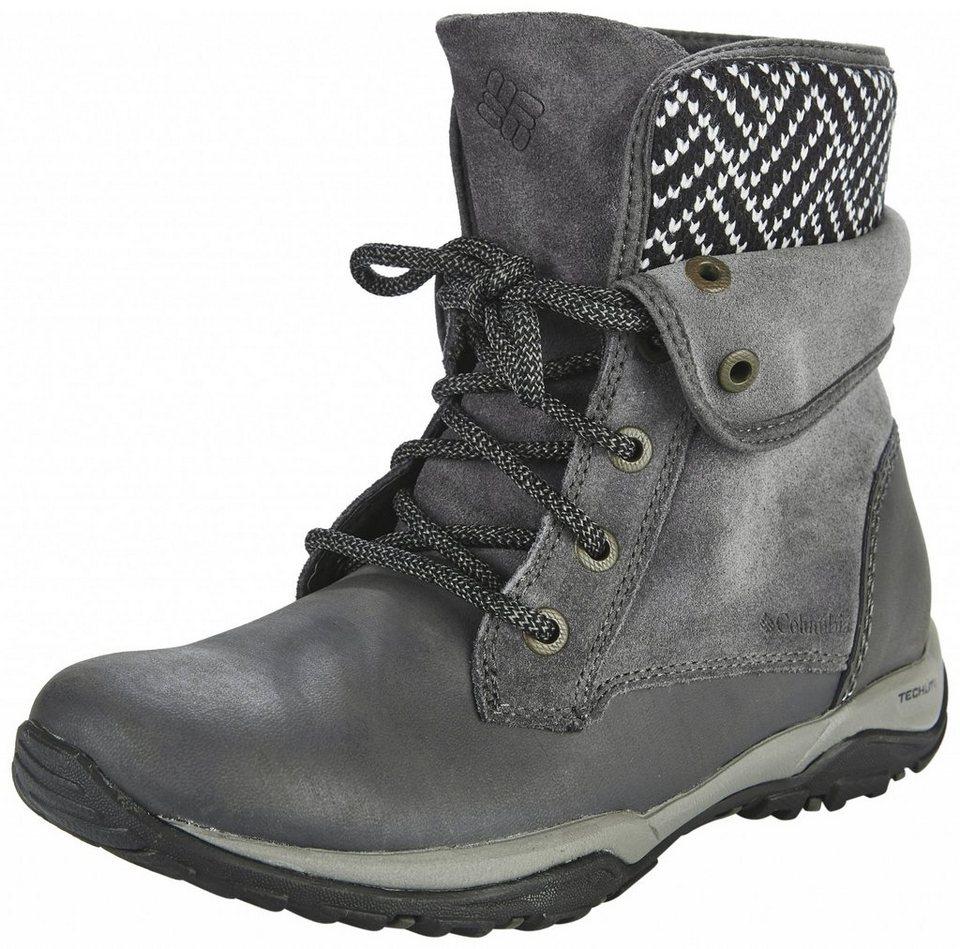 Columbia Kletterschuh »Cityside Fold Boots Women WP« in grau