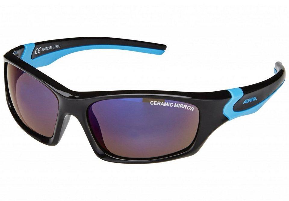 Alpina Radsportbrille »Flexxy Teen« in schwarz
