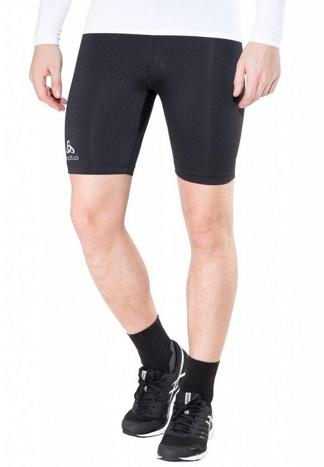 Odlo Laufhose »Sliq Tights Shorts Men« in schwarz