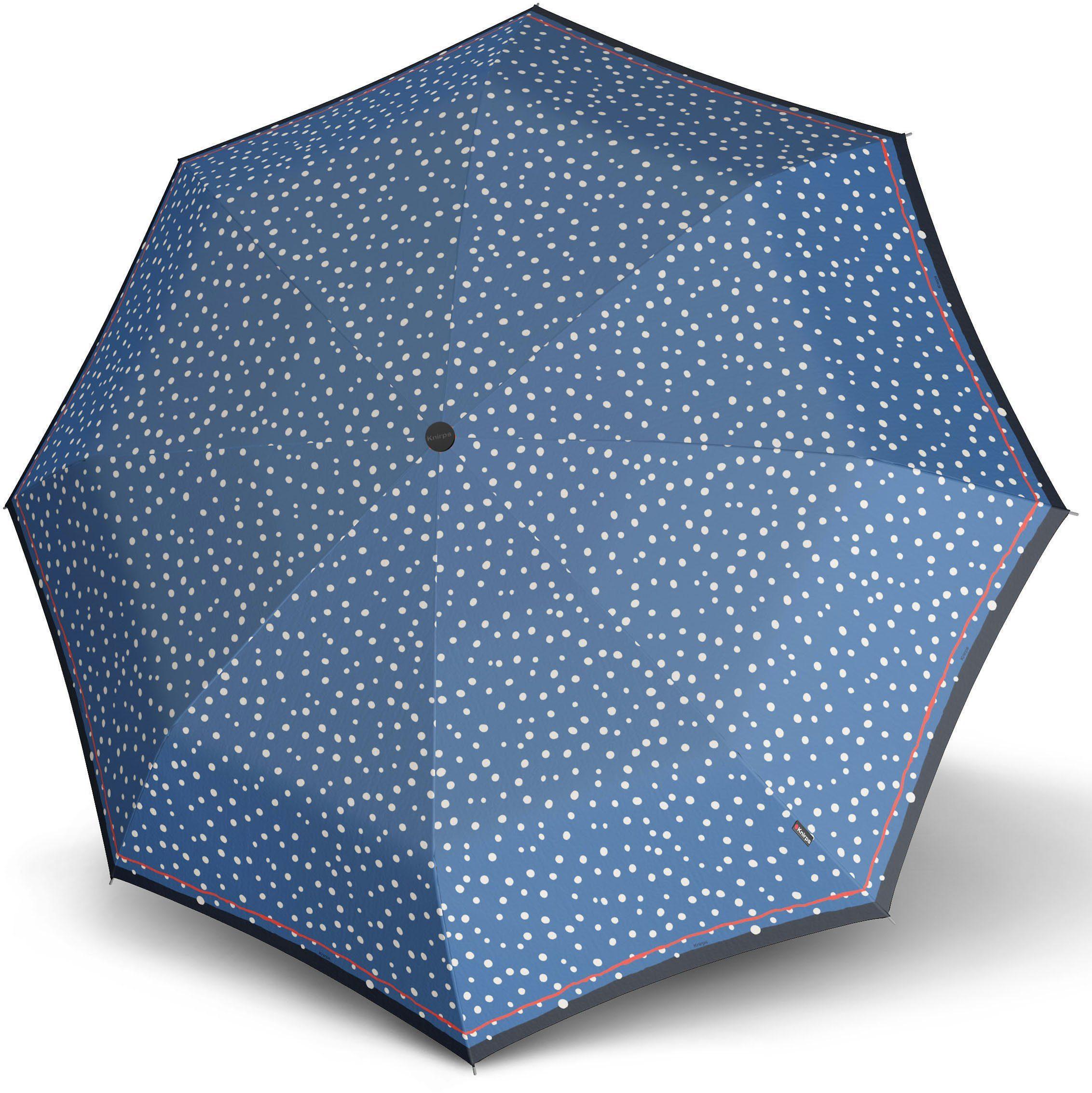 Knirps Regenschirm, »Taschenschirm X1 flakes blue«