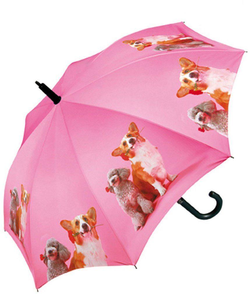 doppler® Regenschirm für Kinder, »Stockschirm Dogs Automatik«