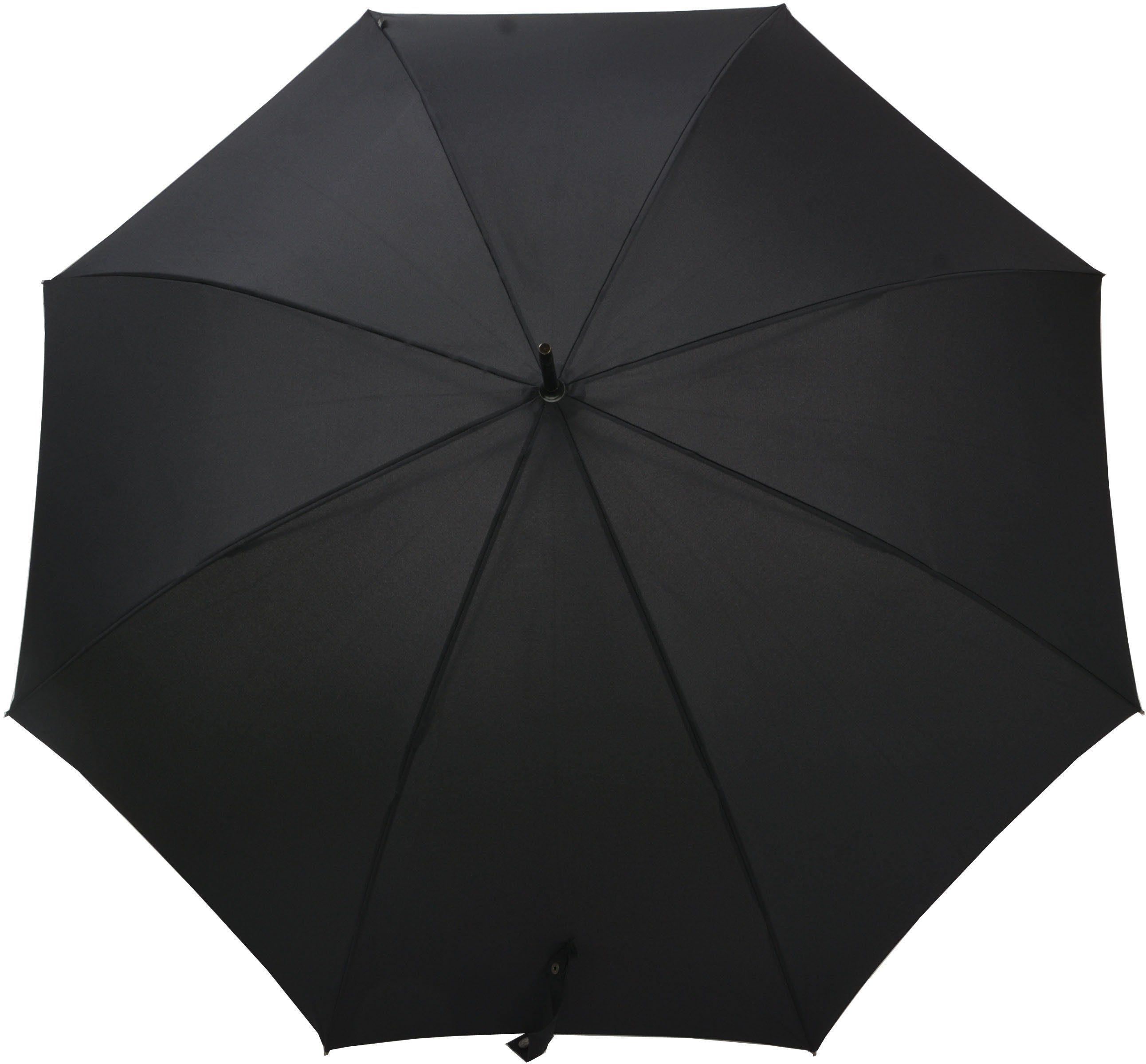 Bugatti Regenschirm, »Stockschirm Sport AC schwarz«