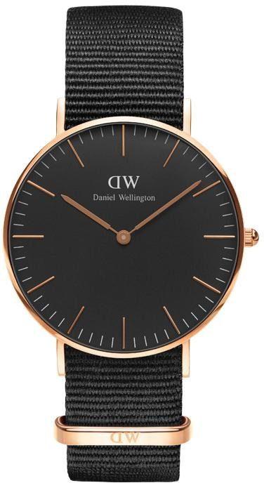 Daniel Wellington Quarzuhr »Classic Black Cornwall, DW00100150«