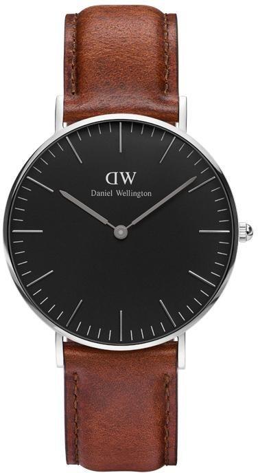 Daniel Wellington Quarzuhr »Classic Black St Mawes, DW00100142« in dunkelbraun