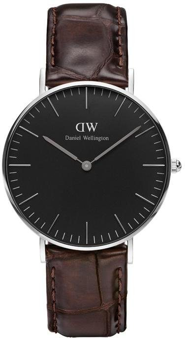 Daniel Wellington Quarzuhr »Classic Black York, DW00100146«