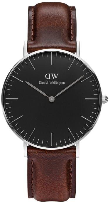 Daniel Wellington Quarzuhr »Classic Black Bristol, DW00100143« in dunkelbraun