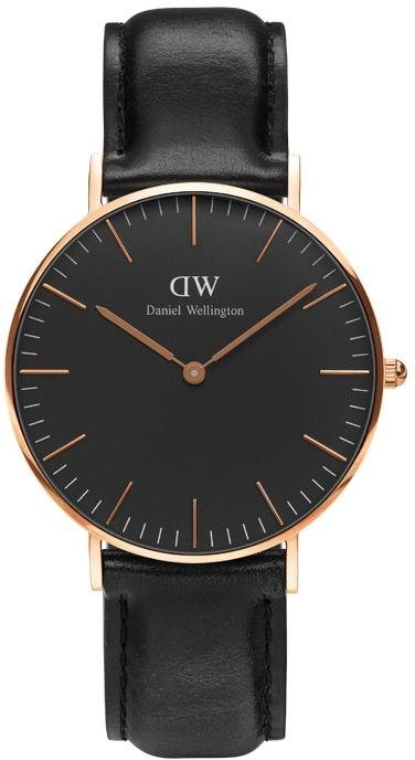 Damenuhren 2017 dw  Daniel Wellington Quarzuhr »Classic Black Sheffield, DW00100139 ...