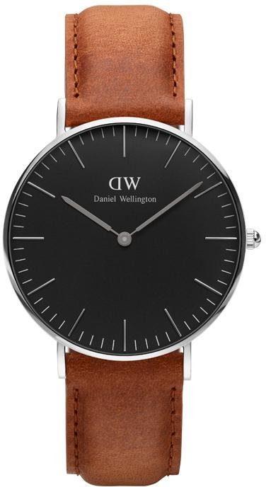 Daniel Wellington Quarzuhr »Classic Black Durham, DW00100144«