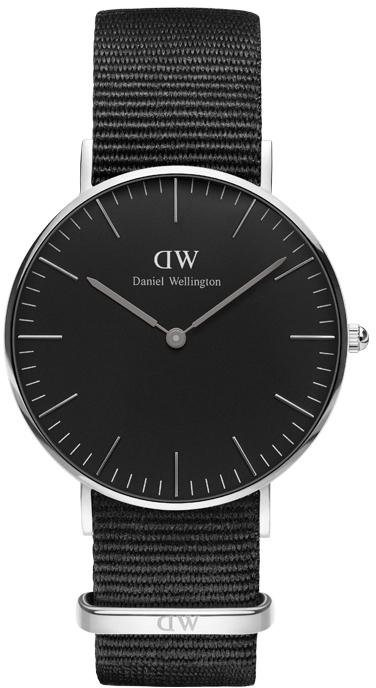 Daniel Wellington Quarzuhr »Classic Black Cornwall, DW00100151« in schwarz