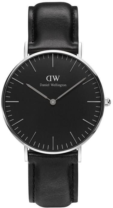 Daniel Wellington Quarzuhr »Classic Black Sheffield, DW00100145« in schwarz