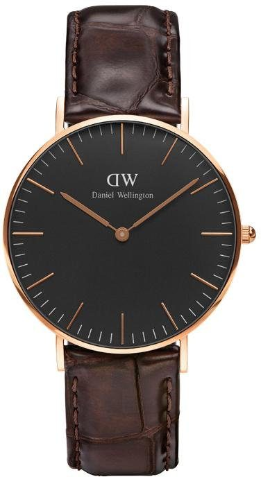 Daniel Wellington Quarzuhr »Classic Black York, DW00100140«