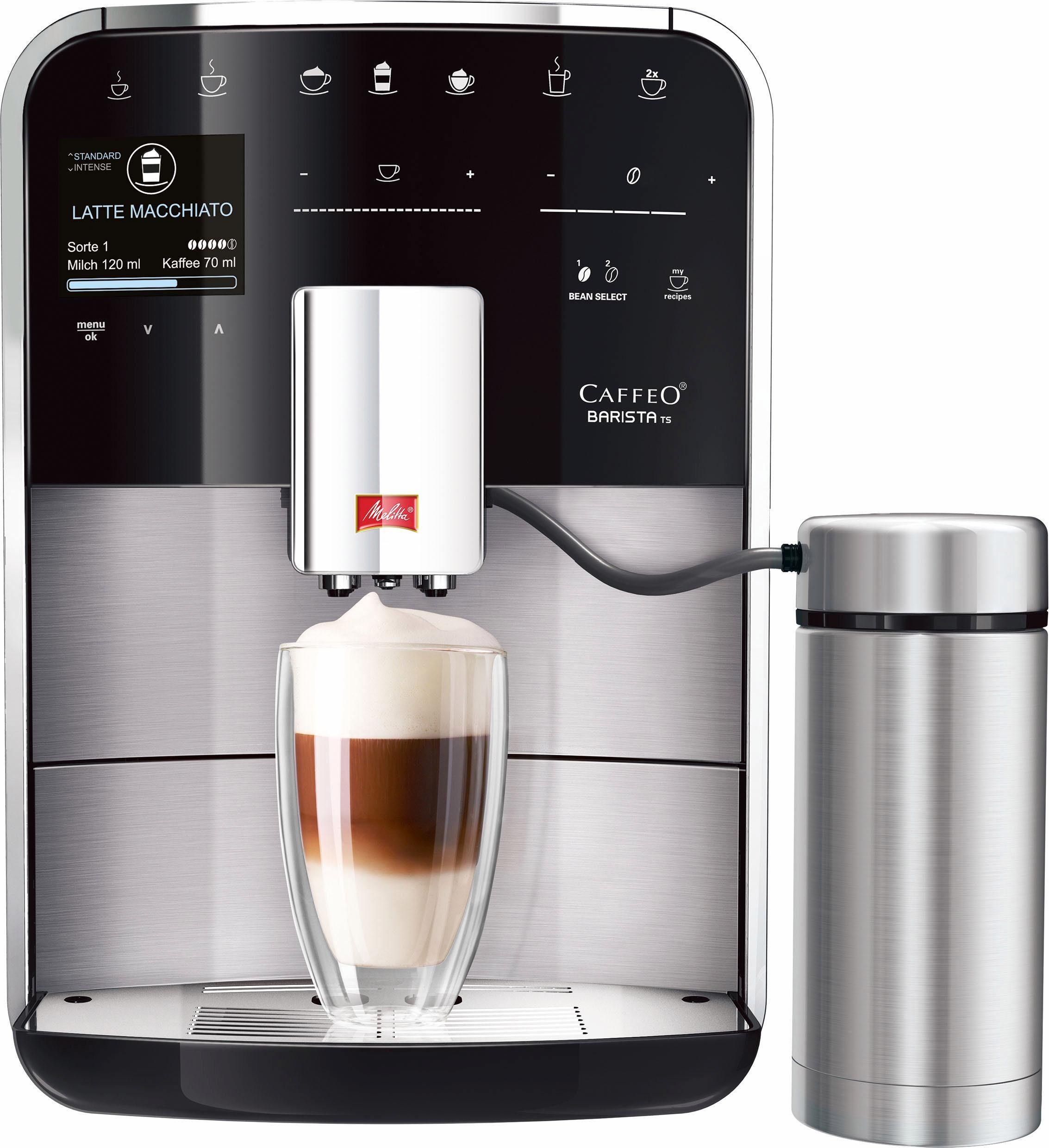 Melitta Kaffeevollautomat CAFFEO® Barista® TS Aroma Intense F 76/0-200, 1,8l Tank, Kegelmahlwerk