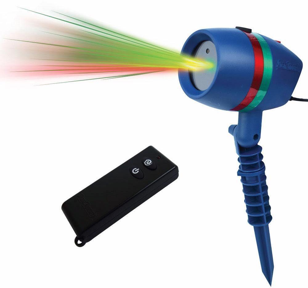 Beweglicher Laserstrahler mit Fernbedienung »Star Shower Motion«