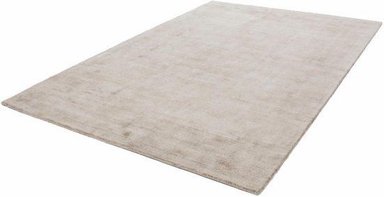 Teppich »Premium 500«, LALEE, rechteckig, Höhe 13 mm, Viskose mit Seiden-Optik