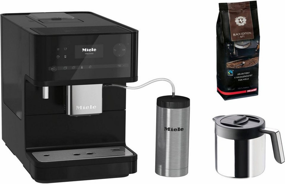 MIELE Kaffeevollautomat CM6350 Black Editon 1 8l Tank