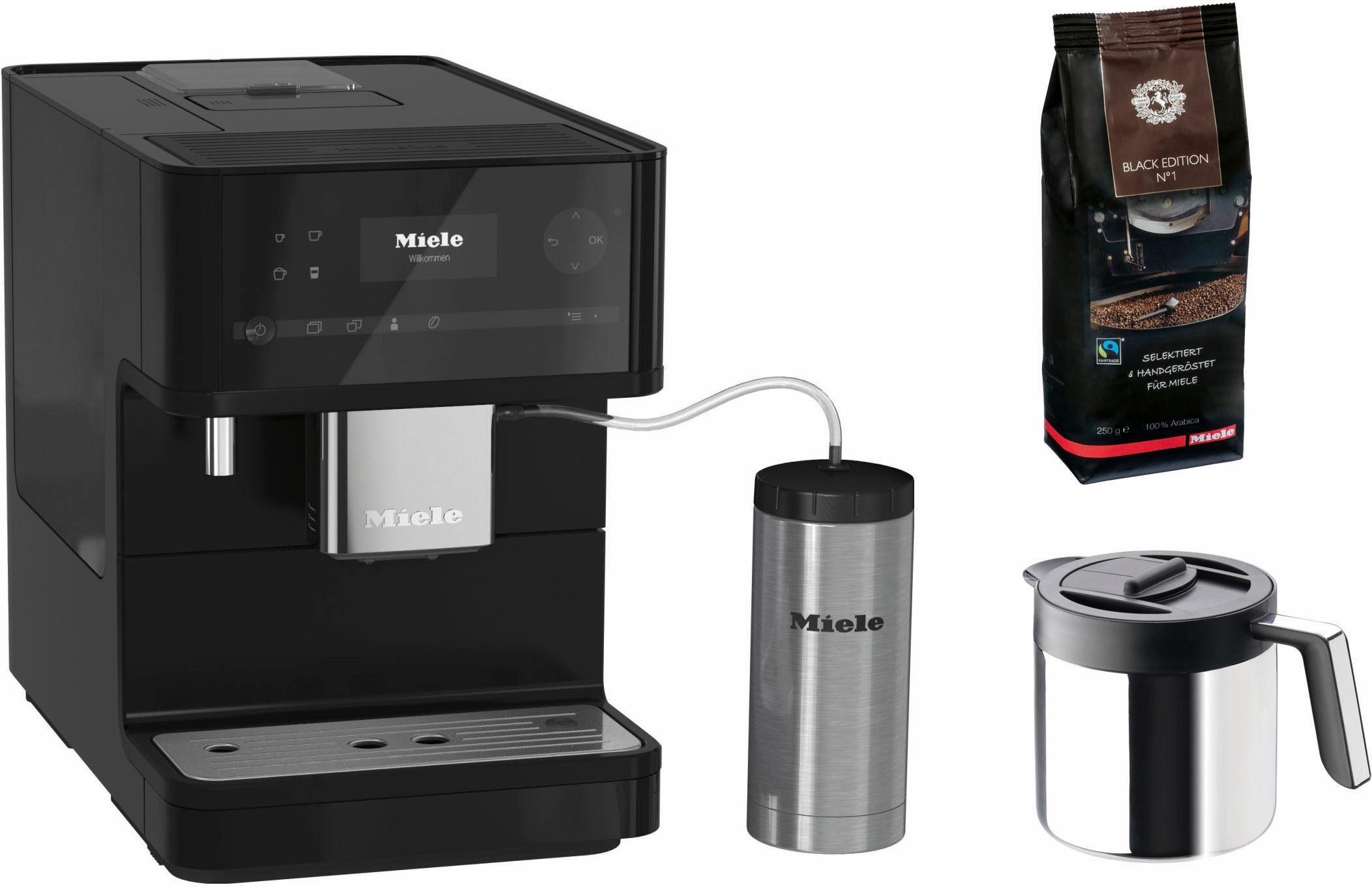 Miele Kaffeevollautomat CM6350 Black Editon, inkl. Gutschein für Gratis-Zubehör i.W.v. 134,90€ UVP