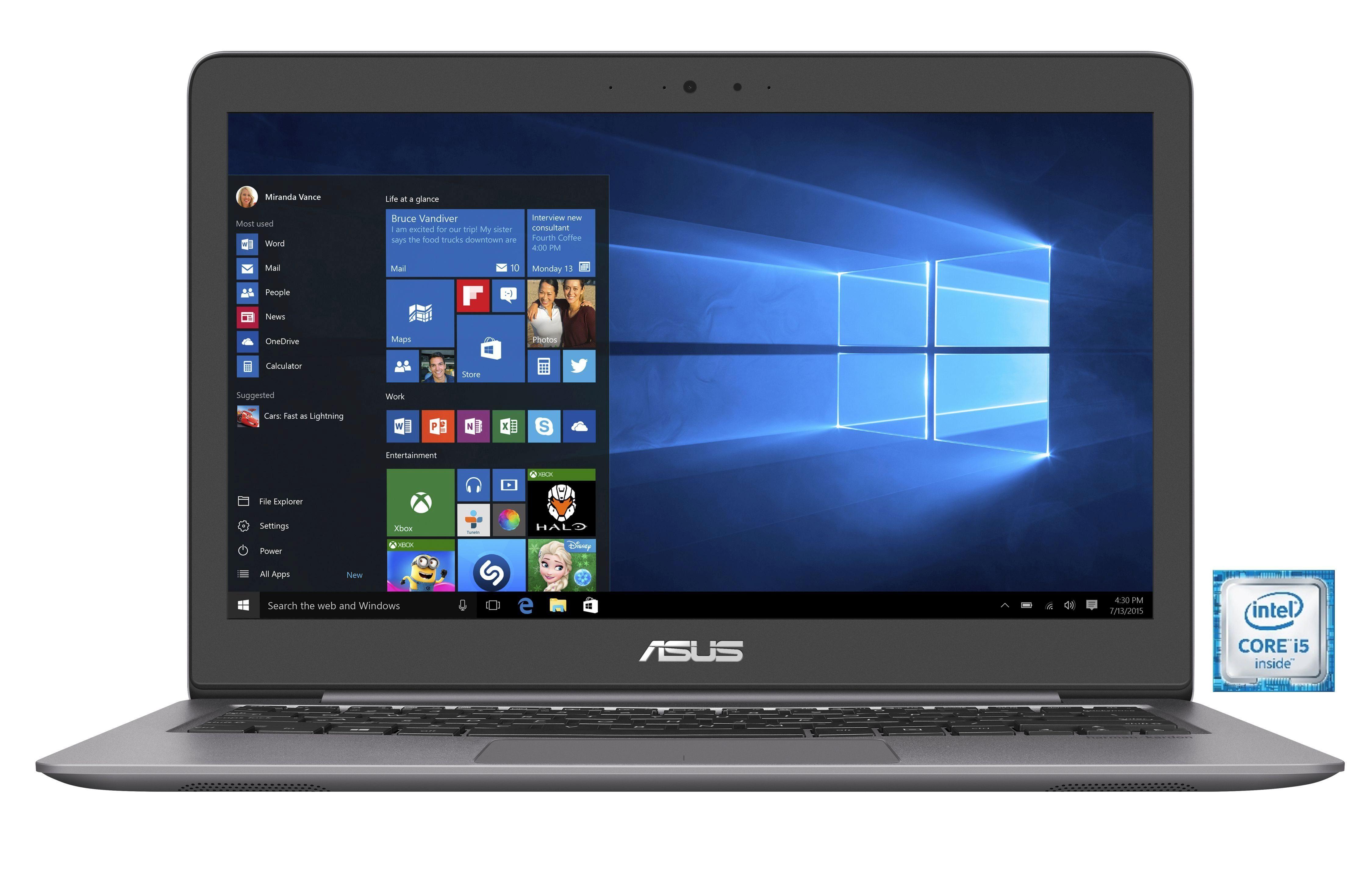 "ASUS UX310UA-FC073T Notebook »Intel Core i5, 33,7cm (13,3""), 256 GB SSD, 8 GB«"