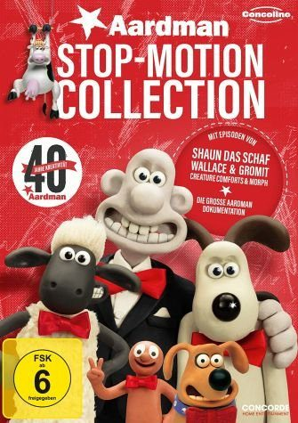 DVD »Aardman Stop-Motion Collection«