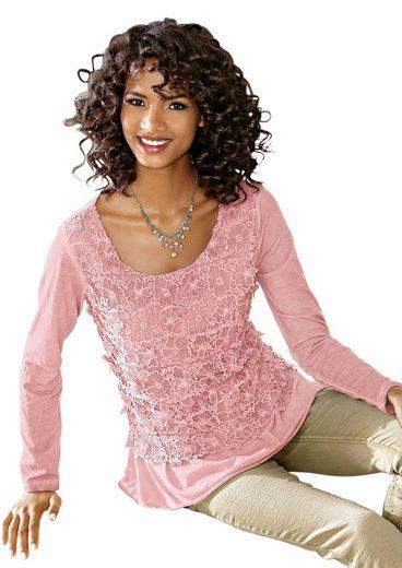 Création L Shirt aus reiner Baumwolle
