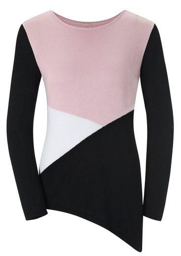 Lady Pullover mit modischem Muster