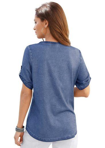 Collection L Shirt in der angesagten oil dyed-Waschung