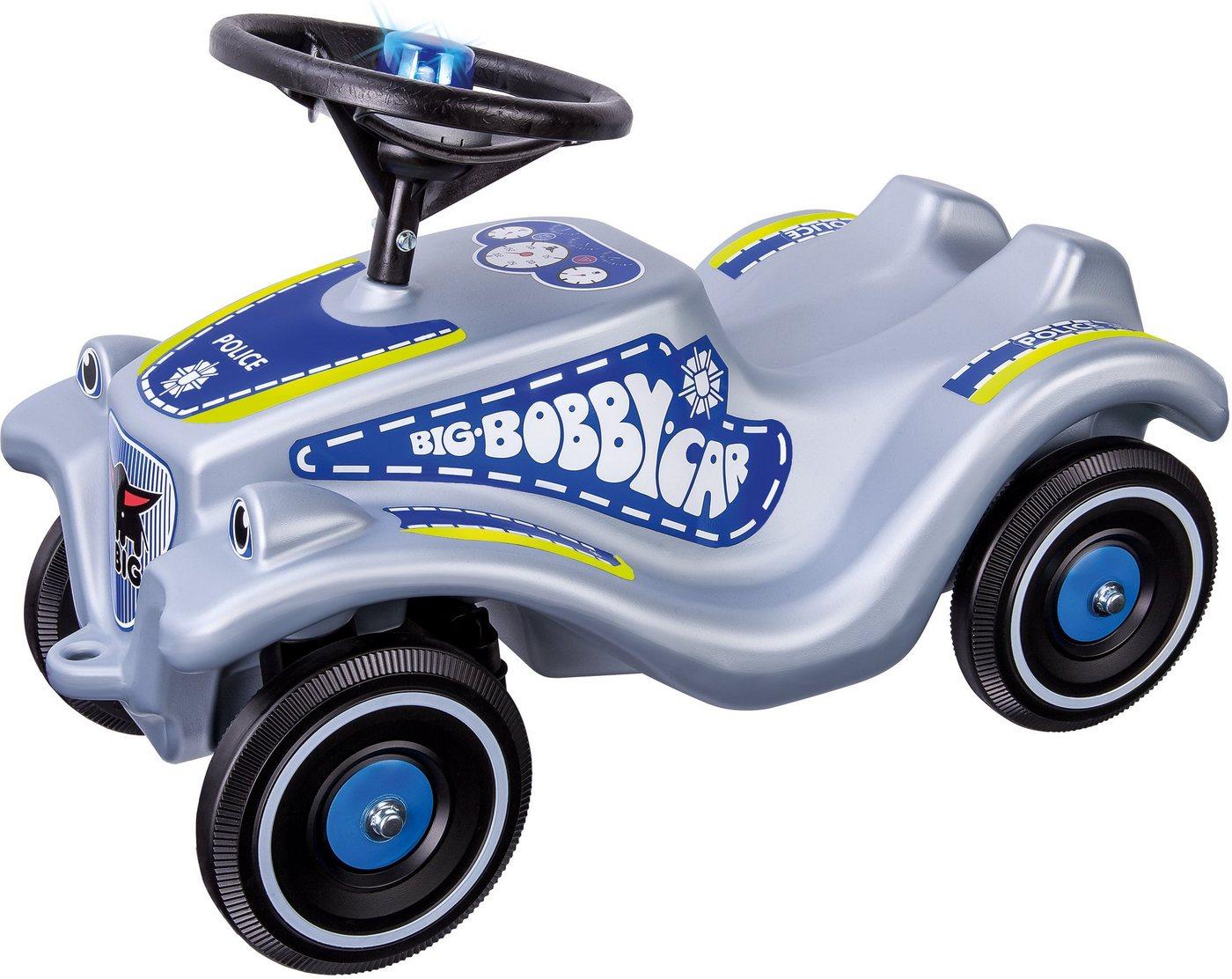 BIG Rutscherauto mit Blaulicht und Sound, »BIG Bobby Car Classic Polizei«