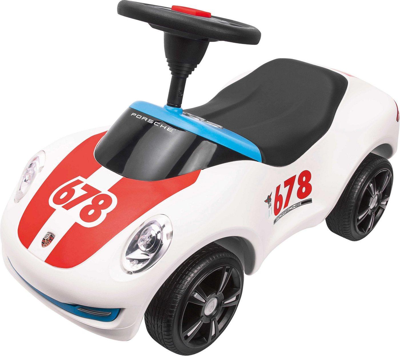 BIG Rutscherauto, »BIG Bobby Car Baby-Porsche Premium, weiß«