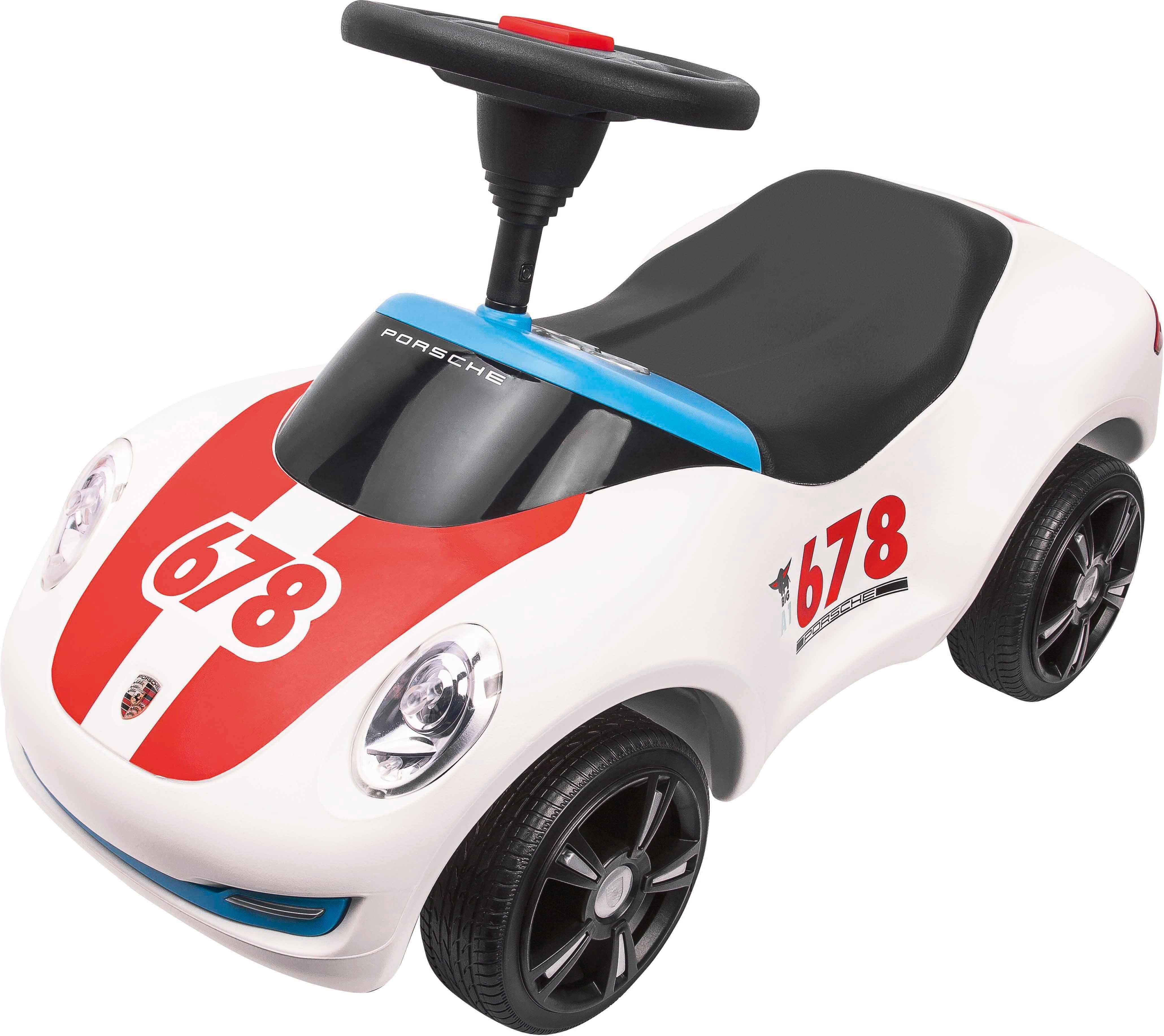 BIG Rutscherauto »BIG Bobby Car Baby-Porsche Premium, weiß«