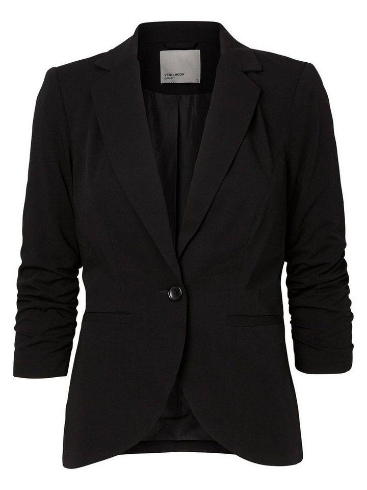 Vero Moda 3/4 Sleeved Blazer in Black