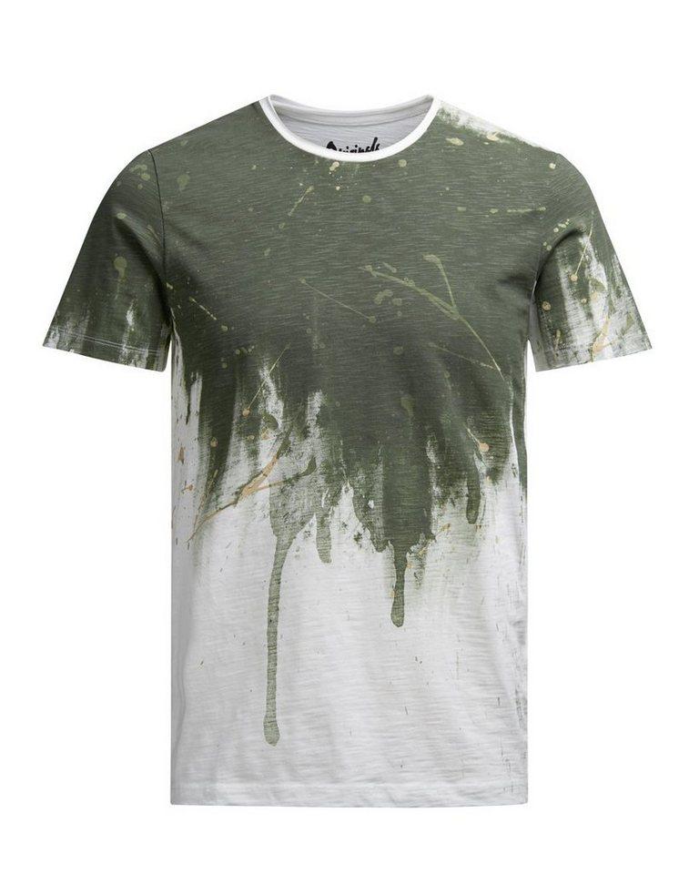 Jack & Jones Bedrucktes T-Shirt in Cloud Dancer 2