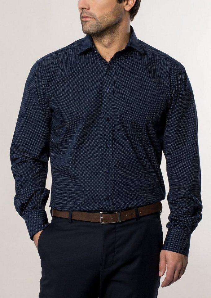 ETERNA Langarm Hemd »COMFORT FIT« in marine