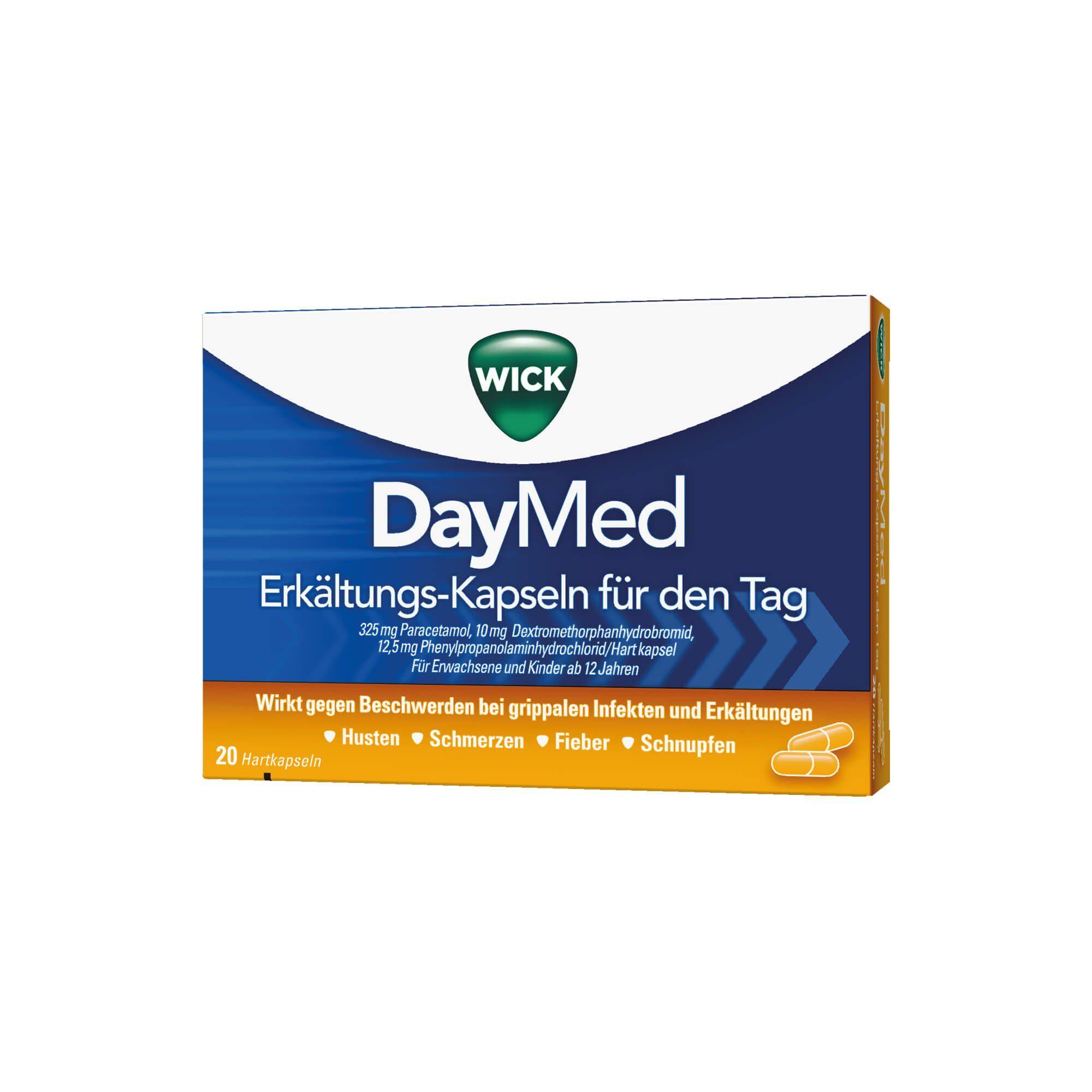WICK Wick DayMed Erkältungs-Kapseln (, 20 St)
