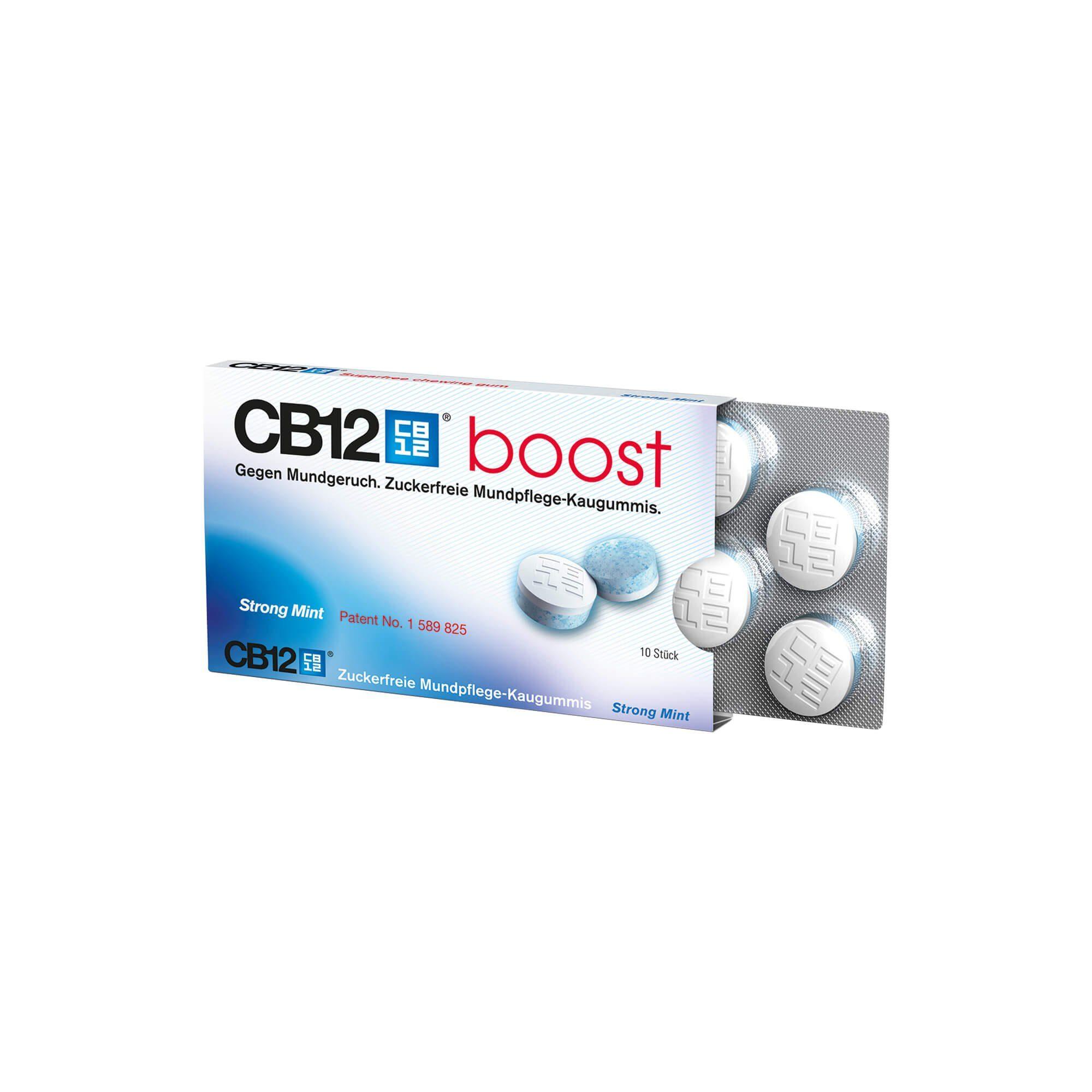 CB12 CB12 Boost Kaugummi , 10 St