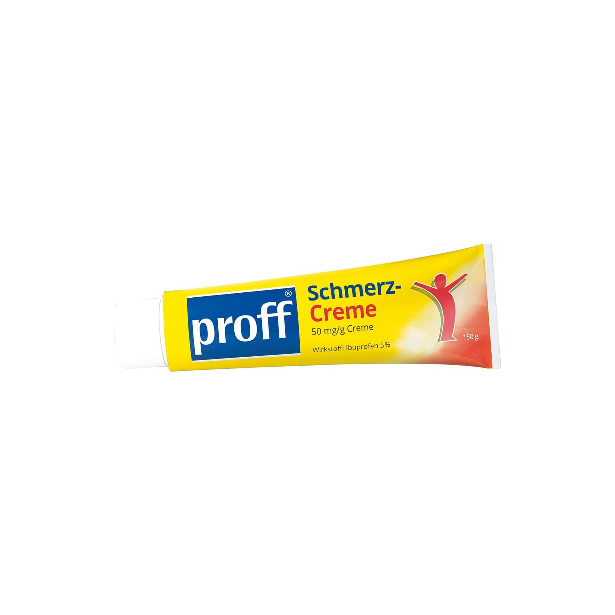 Proff Schmerzcreme 5 %, 150 g