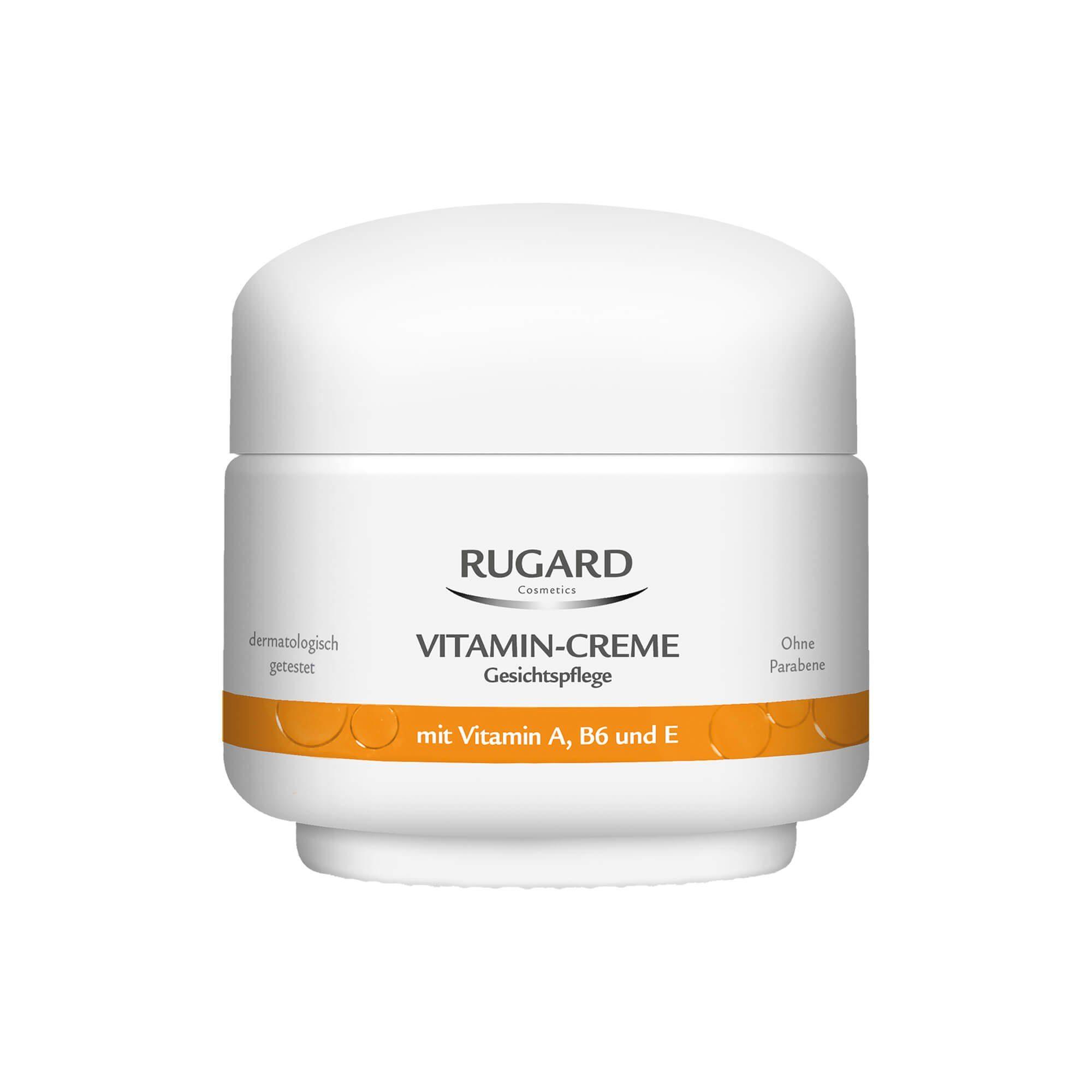 Rugard Vitamin Creme Gesichtspflege , 100 ml